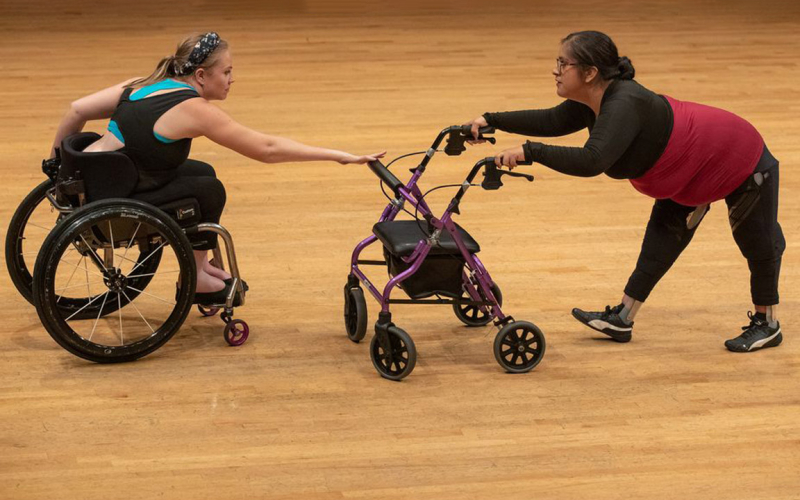 Disabled dancers learn to redefine the aesthetics of movement at UCLA