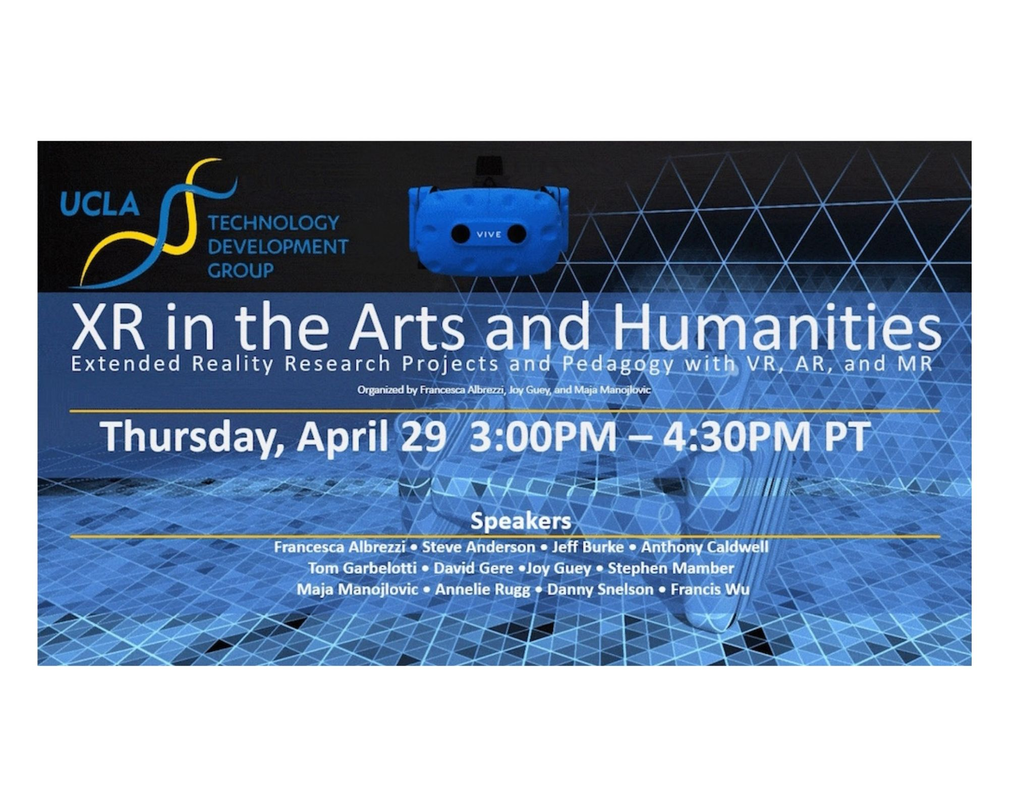 XR IN THE ARTS AND HUMANITIES: Through Positive Eyesat the Fowler Museum
